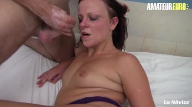 amateur euro french babe ready to try some anal pounding