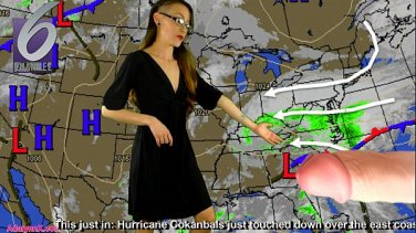 Professional erotic massage. Man touches pussy to orgasm