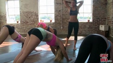 Rich students orgy with male teachers in the classroom