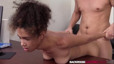 Shemale Foxxy with big dick fucks busty woman